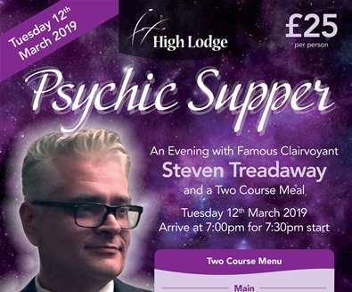 Psychic Supper-An Evening with..