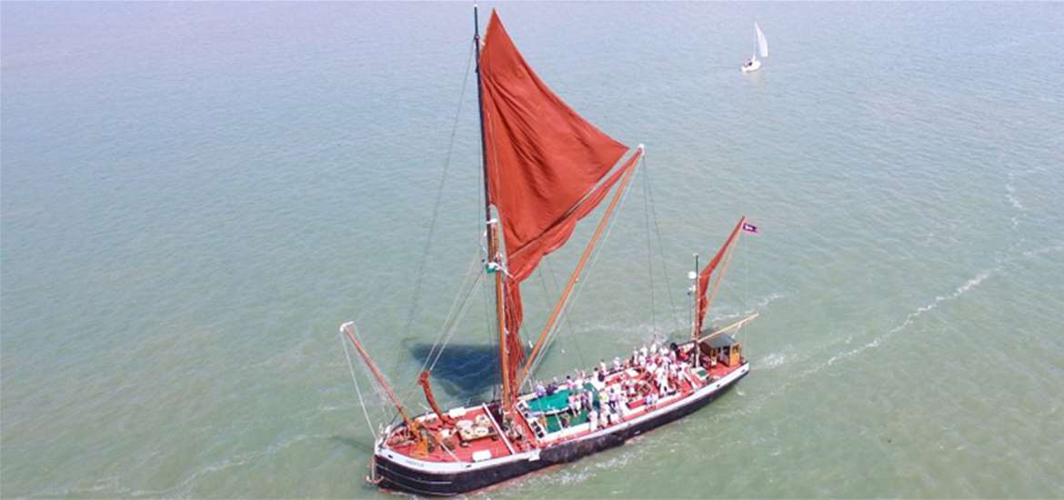 Sailing Barge Cruises - Harwich Harbour
