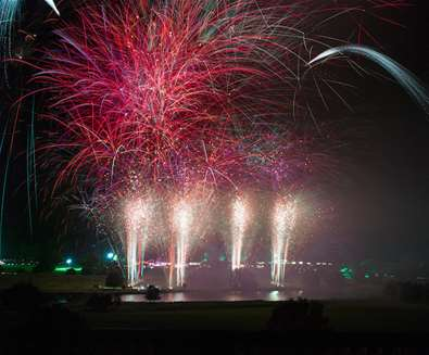 Fireworks Displays on The Suffolk Coast