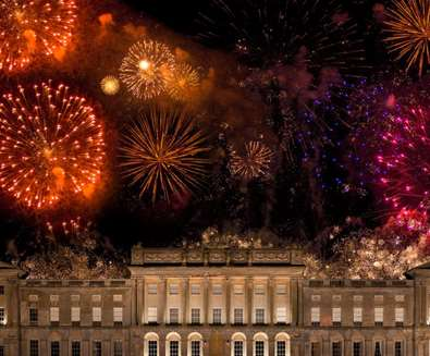 TTDE - Heveningham Hall - Fireworks