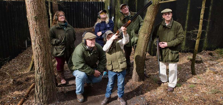 Weddings - High Lodge Leisure - Shooting Group