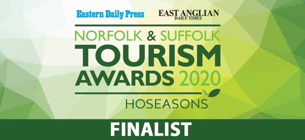 Hippersons Boatyard Self Catering Finalist - Norfolk & Suffolk Tourism Awards 2020