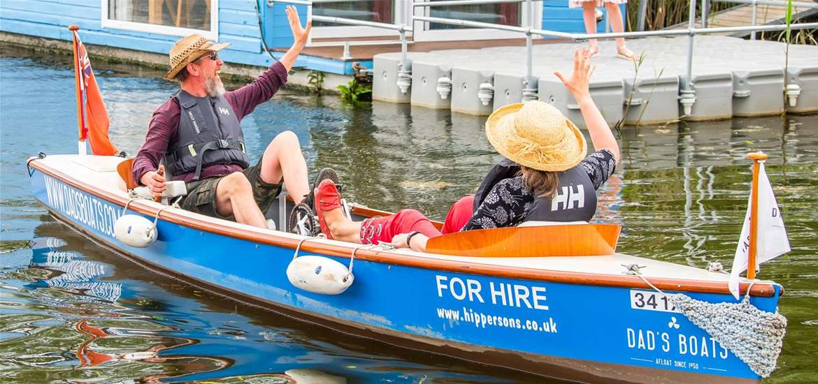 Hippersons Boatyard - Pedal power