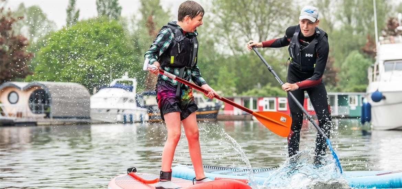 Hippersons Boatyard - SUP fun