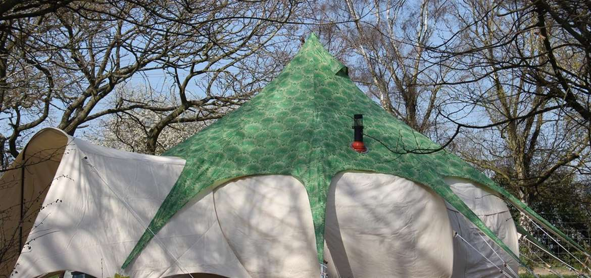 WTS - Manor Farm Knodishall - Covered Bell Tent