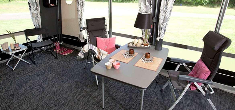 Aldeburgh Basecamp - Tent Interior