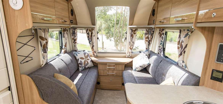 WTS - Aldeburgh Basecamp - Caravan interior