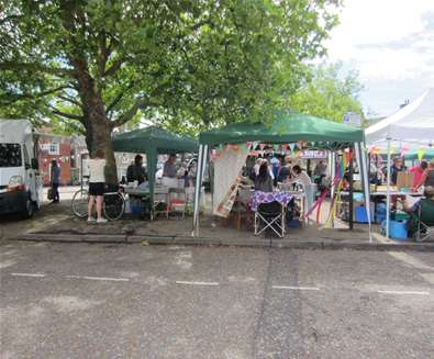 Wickham Market Monthly Market