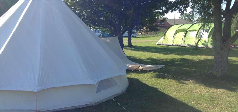 Haw Wood Farm - Bell Tent - Accomodation