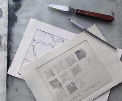 Learn Drypoint printing -..