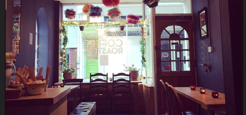 F&D - The Firestation - Woodbridge - Inside cafe