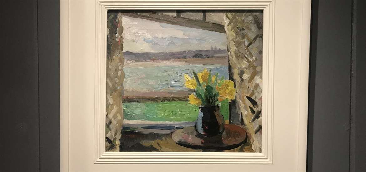 TTDA - Rowe & Williams GALLERY - View of the Estuary, c.1930s. by Allan Walton