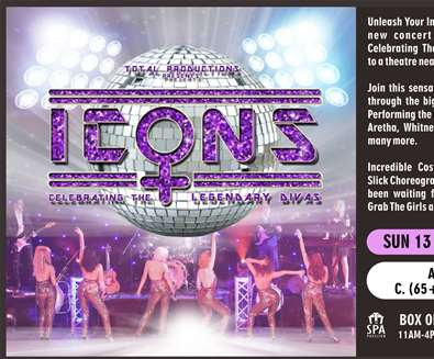 Icons at The Spa Pavilion - Felixstowe