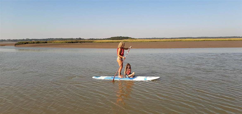 TTDA - Iken Canoe - Paddleboarding