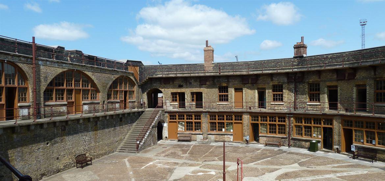 Landguard Fort Inside View