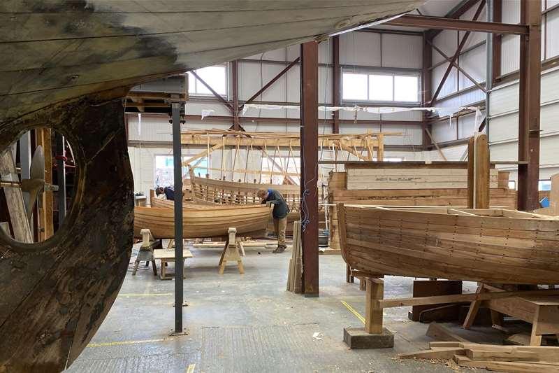 Towns & Villages - ITBC - Boat build