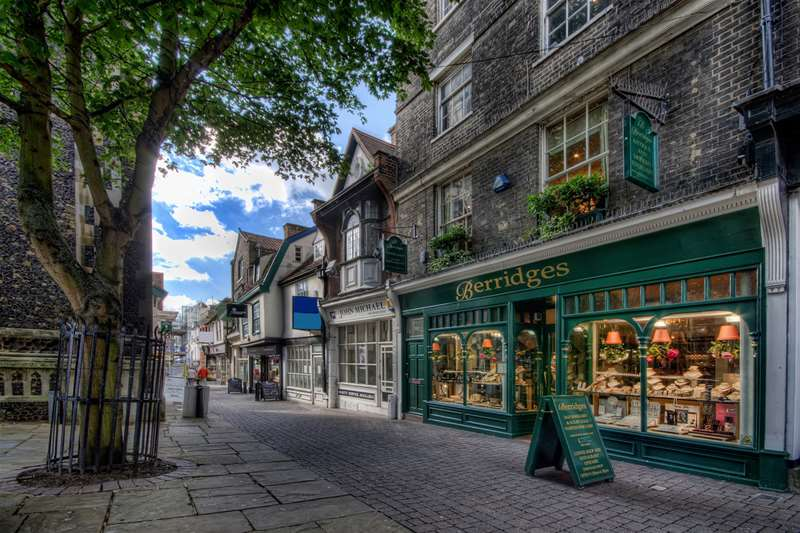 Towns & Villages - Ipswich - shops