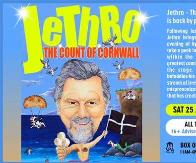 Jethro at Spa Pavilion..