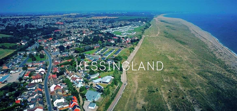 Kessingland Aerial View