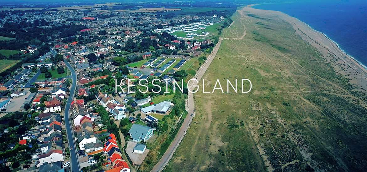 Kessingland - Aerial View