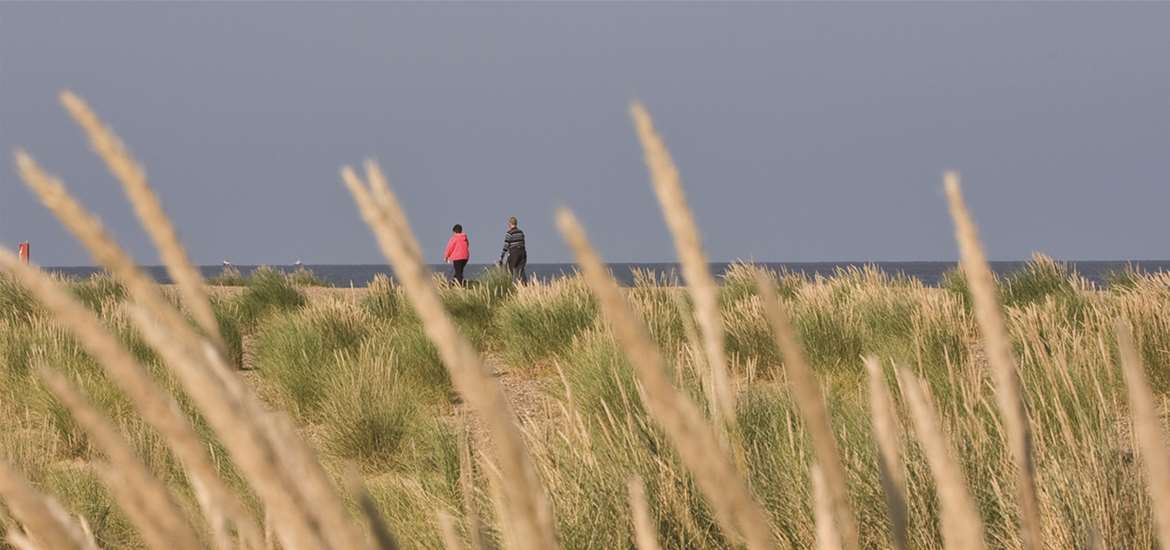 Kessingland Beach - Towns and Villages on The Suffolk Coast - (c) Waveney District Council