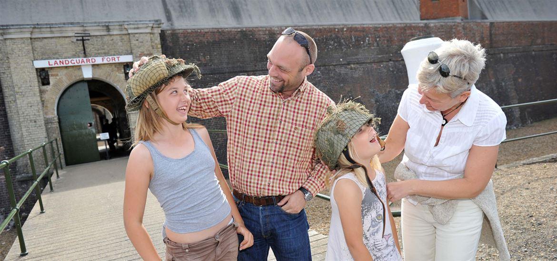 Landguard Fort Family Fun