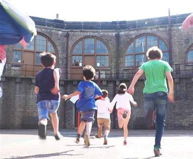 TTDA - Landguard Fort - Children running