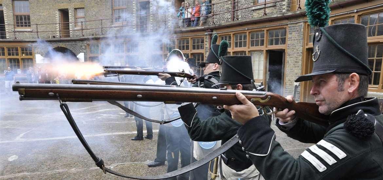 TTDA - Landguard Fort - Musketeers