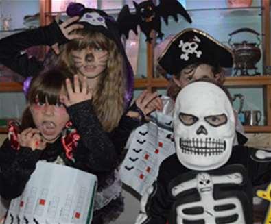 Landguard Spooky Day