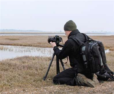 Photography Day on RSPB  Havergate Island