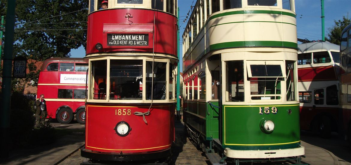 East Anglia Transport Museum - Attractions - London's Last Tram