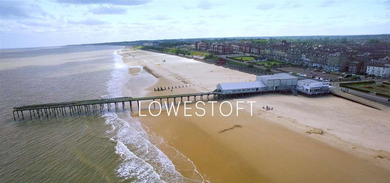 Lowestoft Aerial View