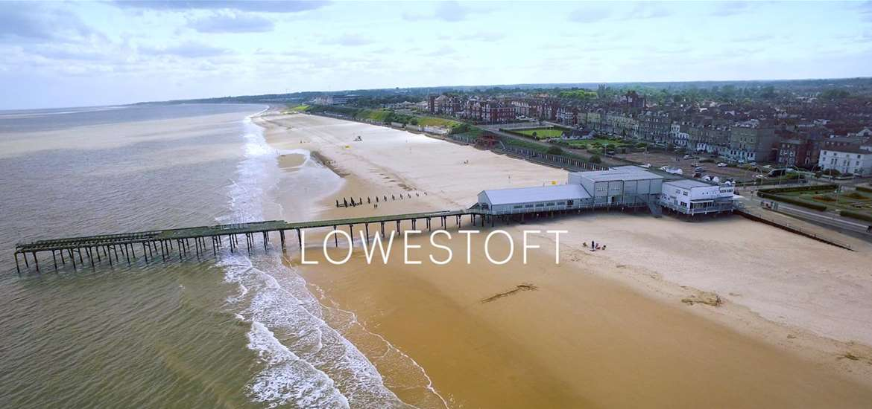 Lowestoft on the Suffolk Coast