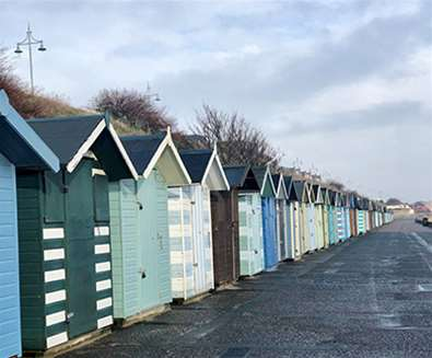 Wrap up warm and stroll along the prom