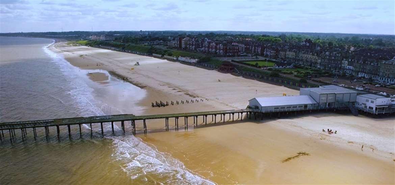 TTDA - Lowestoft Beach - Claremont Pier