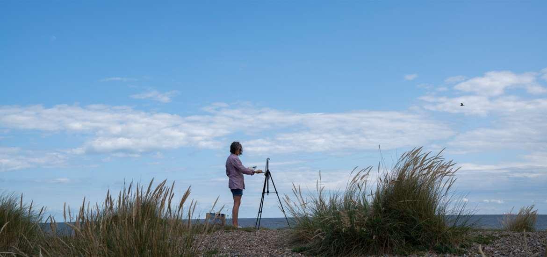 Pakefield Beach Suffolk Coast
