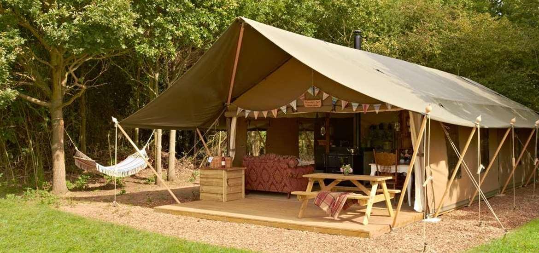 WTS - Secret Meadows - Luxury Lodge Tent Exterior
