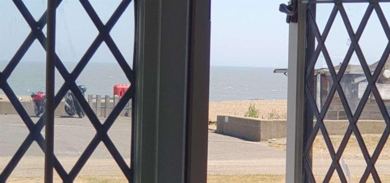 WTS - The Mill Inn - view of beach
