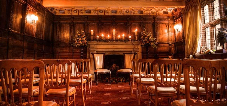 Weddings - Woodhall Manor - Ceremony Room -