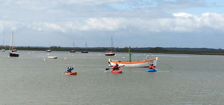 TTDA - Airborne Kitesurf - Kayaking