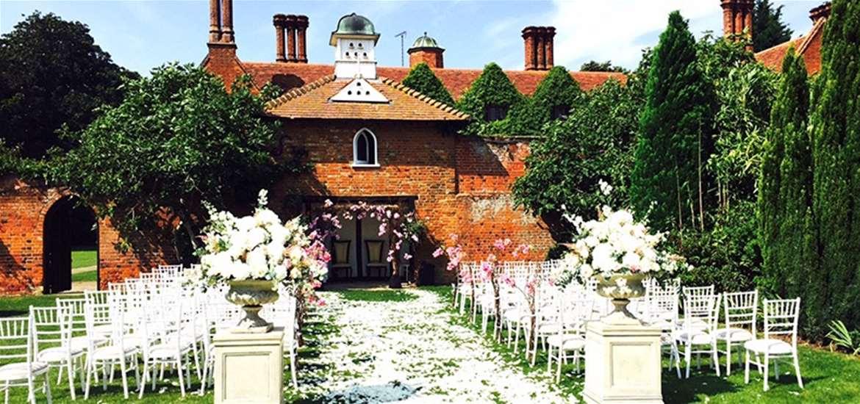 Weddings - Woodhall Manor - Ceremony