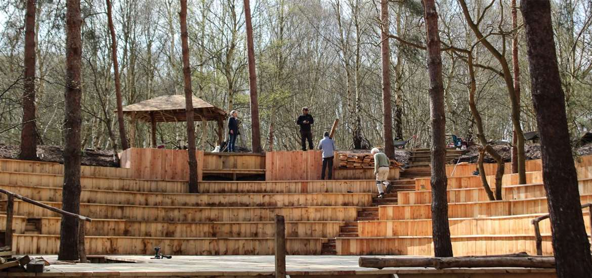 TTDA - Thorington Theatre - view of seats and woods