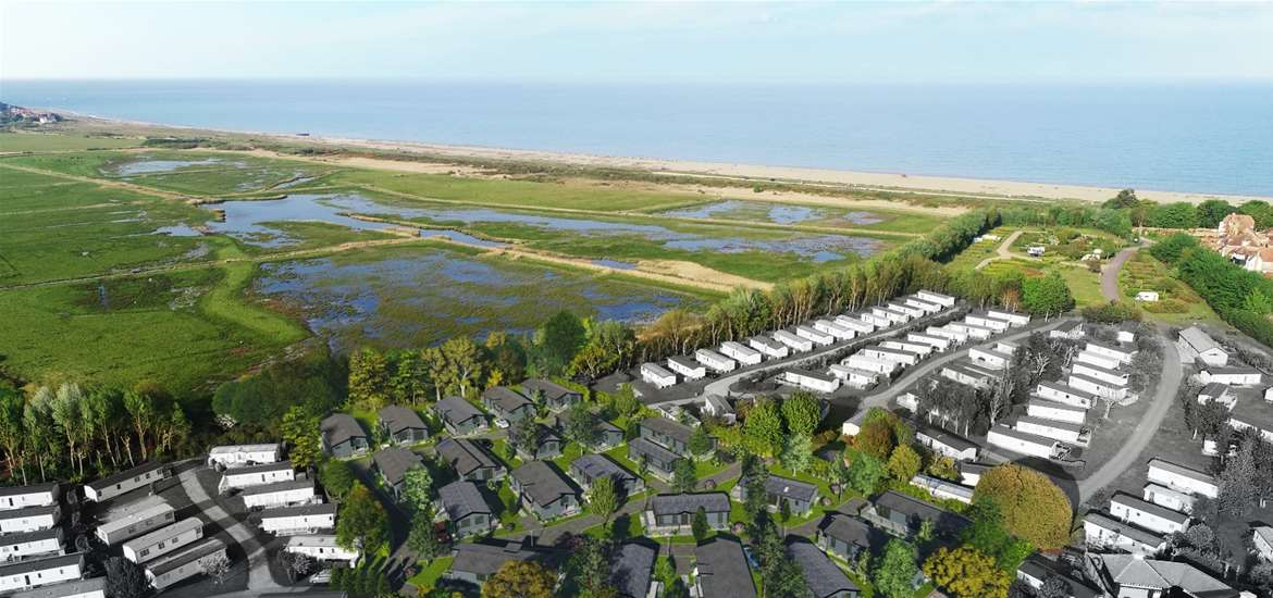 WTS - Marsh View Lodges - Aerial view