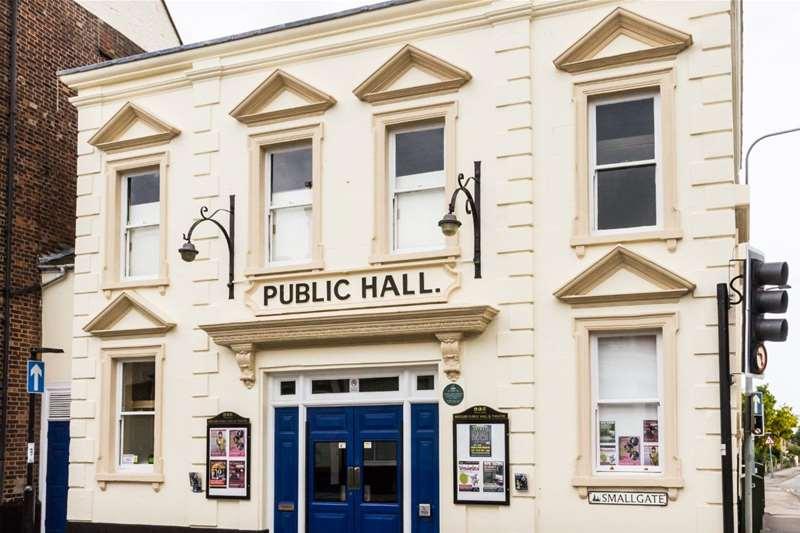 TTDA - Beccles Public Hall - exterior