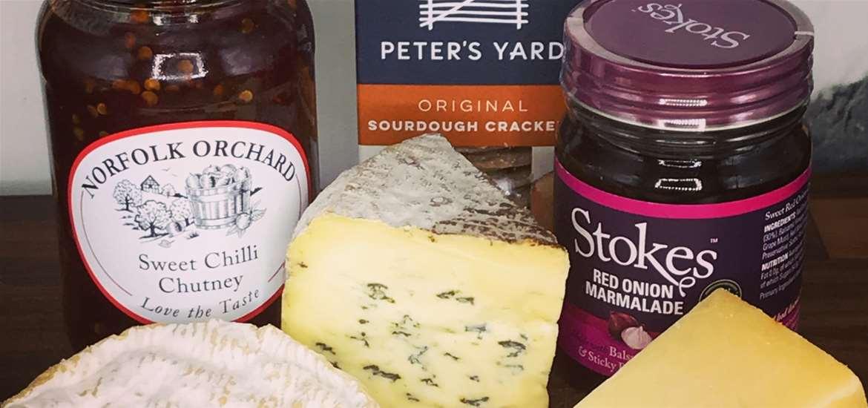 FD - Suffolk Lunch - cheeseboard