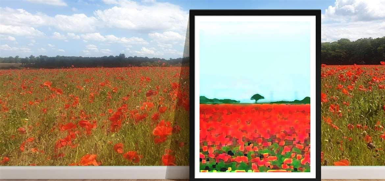 TTDA - Studio byAbi - poppy fields