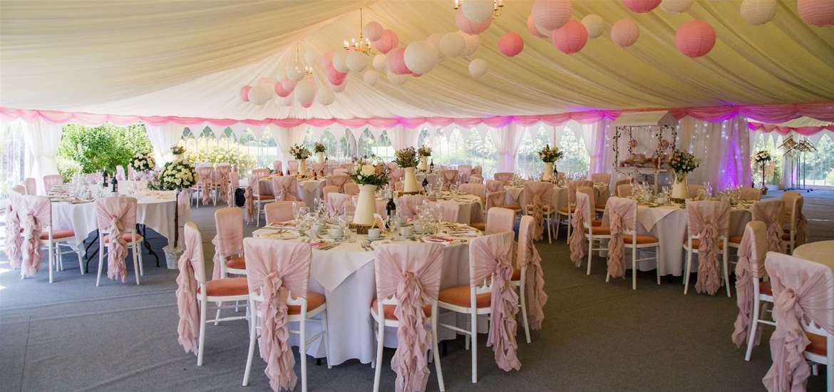 Weddings - Hungarian Hall - Marquee
