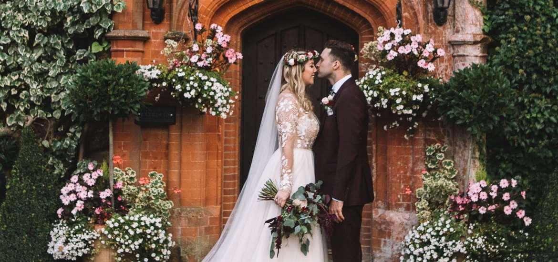 WED - Woodhall Manor - couple