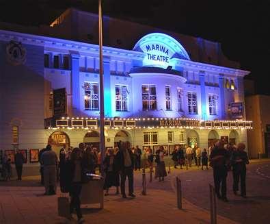 TTDA - Marina Theatre - at night