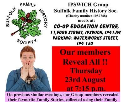 Monthly Meeting - Ipswich..